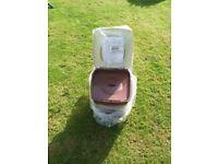 Elsan mini portable toilet