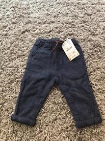 Zara baby trousers