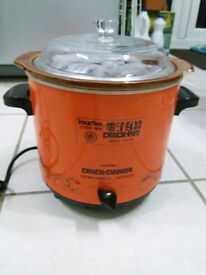 Electric Ceramic Slow Cooker