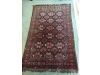 Medium size wool carpet