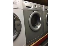 BEKO 7KG WASHING MACHINE SILVER RECONDITIONED