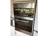 Double electric oven