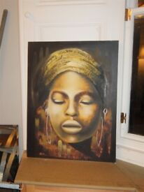 Large African Painting