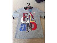 Grey england tshirt