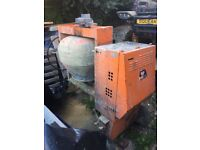 Mixer . Large drum 110v with transformer