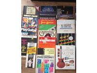 GUITAR BOOKS - SHEET MUSIC - 50+ BOOKS CLAPTON KNOPFLER COLLINS SANTANA
