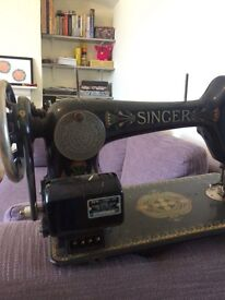 Vintage singer sewing machine Egypt style