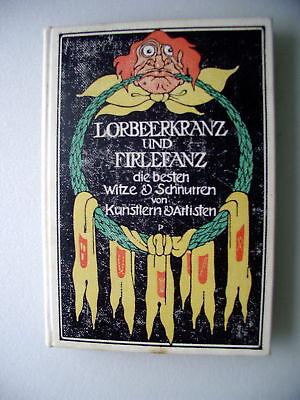 Lorbeerkranz Firlefanz .. lustiges Kränzelein 1911