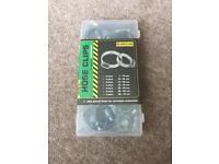 Workzone 34 piece hose clips set *new*