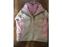 Ladies North Face 3 in 1 jacket. Worn once