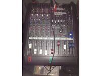 Mackie Mixer DFX 6 channels £40