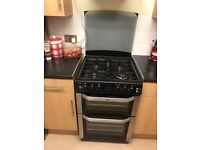 Double gas cooker with electric grill .BELLING model number:FSG60DOF stainless stil