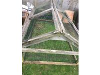 RABBIT HUTCHES NEED GONE ASAP