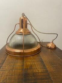 Brass Rimmed lights