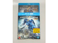 DVD 3D FILM MOVIE BLURAY PACIFIC RIM 3 DISC SET SPECIAL FEATURES BLU-RAY 2013.⭐️