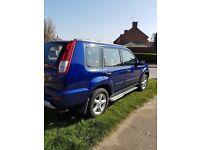 Nissan xtrail 2.0 petrol 2001 blue low milage