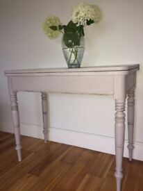 Hand painted Furniture - Antique Console Table