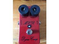 MXR custom shop 76 dyna comp (compressor pedal) modded by analogman