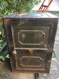 Vintage safe with key
