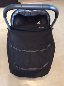 Silver cross Wayfarer pushchair and baby car seat with Isofix base