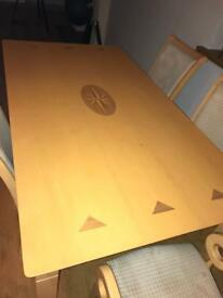 Six Seater Table & Chairs (Needs gone)