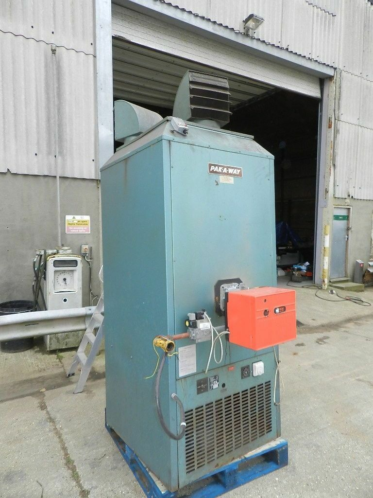 Pakaway Industrial Warm Air Heater Workshop Warehouse