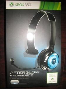 PDP - Afterglow Wired Communicator / Headset for Micrsoft Xbox 360. NEW