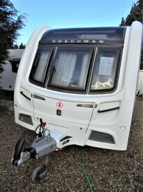 2014 Coachman Pastiche 520 - 4 Berth Touring Caravan With Dinette Area & Large Rear Washroom