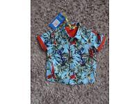 TED BAKER Boys shirt brand new.