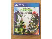 Sony Playstation 4 Game - Plants Vs Zombies Garden Warfare
