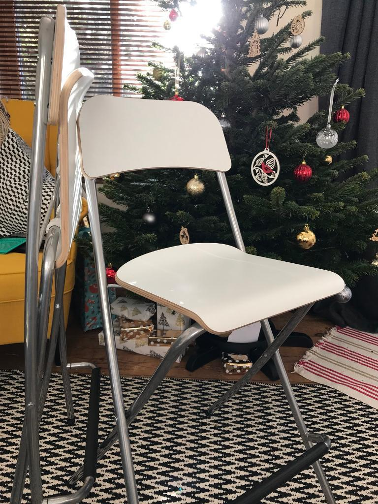 Two IKEA FRANKLIN chairs
