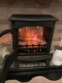 Sheldan electric log effect fire