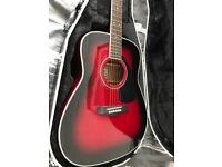 Yamaha FG423s Acoustic with Hard Case