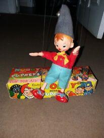 Linda fairylite 1960s noddy puppet series