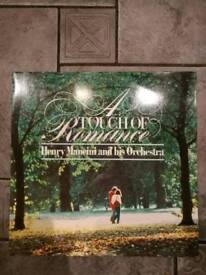 A touch of romance vinyl record