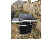 'Jamie Oliver' Gas barbecue with large gas bottle for sale
