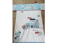 Baby boy cot bedding