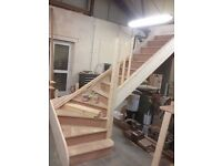 Staircase Solution Stair Parts Refurbishment Stairs Kit---Made to measure----Bespoke to your sizes