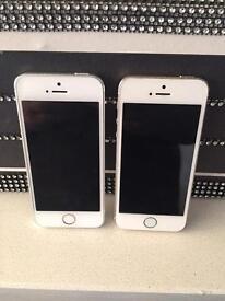 iPhone 5s x2