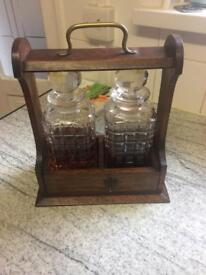 Antique drink holder