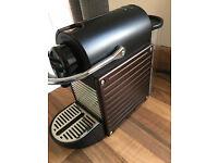 Nespresso Pixie Coffee Machine by Krups. Metallic Brown. FREE Aeroccino. Excellent condition