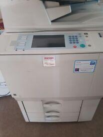 Ricoh mp c6000 professional laser printer copier. Used.
