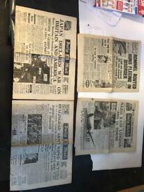 Original world war 2 newspapers