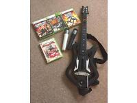 XBox 360 Guitar Hero & Lips Bundle