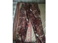 Ladies realtree camouflage lined winter trousers