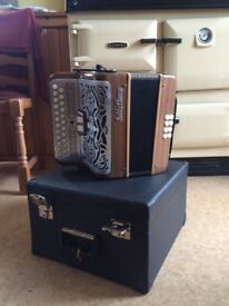 Paddy Clancy 3 Voice Accordion