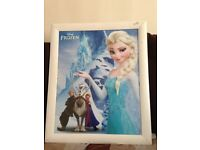 """Large nursery picture frame from THE film """" FROZEN,"""" Ideal for a nursery in your home"""