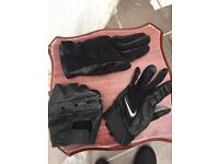 3 different leather gloves driver golf biker