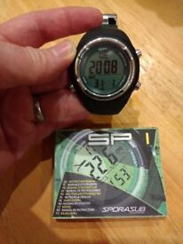 Sporasub SP1 Dive Watch Computer Diving Freediving Spearfishing