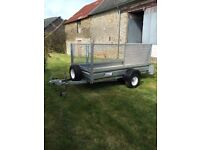 INDESPENSION TRAILER 8x4 vgc. Brought from new. No longer required. Mesh side can be removed £1150